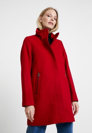 COAT - Manteau court - dark red