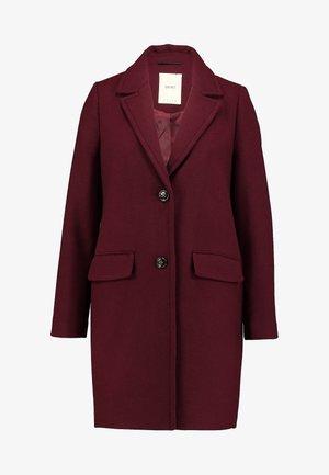 NEW BASIC - Manteau court - bordeaux red