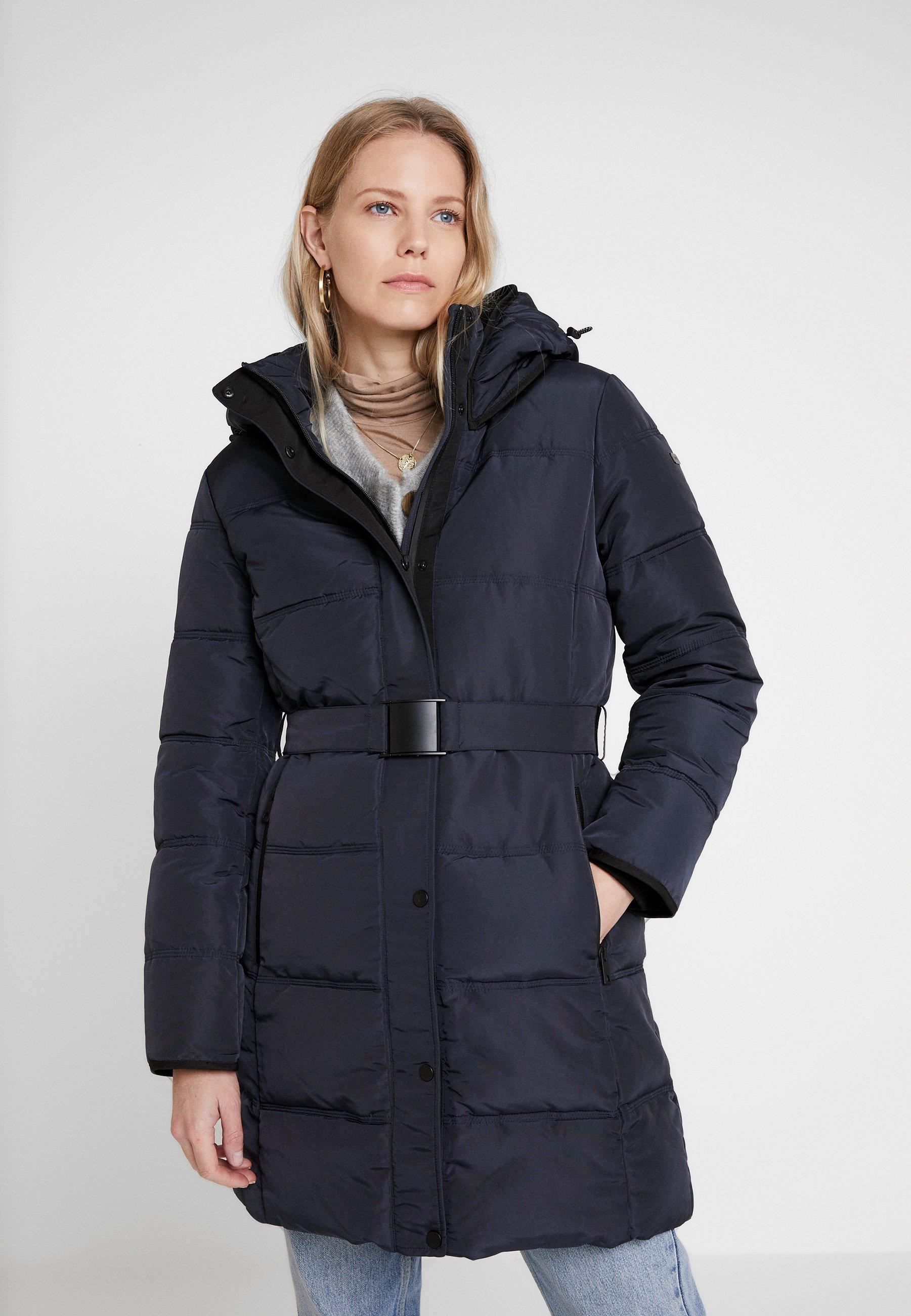 Esprit Coat - Winterjas Navy sNGMFEBN