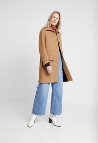 Esprit - WOOL COAT - Zimní kabát - camel - 1