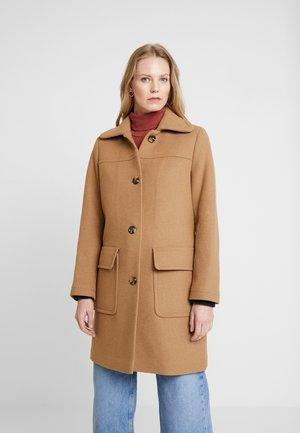 WOOL COAT - Zimní kabát - camel