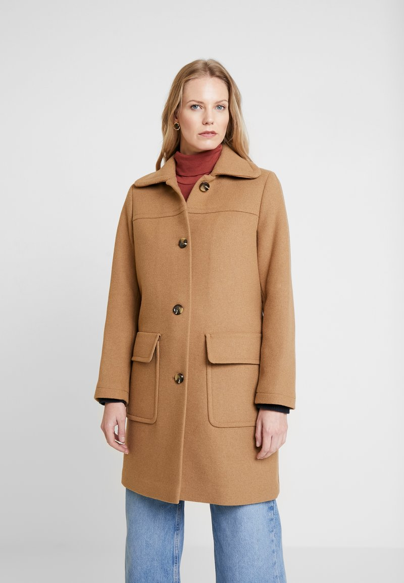 Esprit - WOOL COAT - Zimní kabát - camel