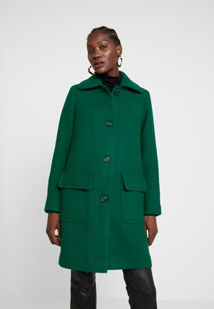WOOL COAT - Manteau classique - bottle green