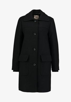 WOOL COAT - Mantel - black