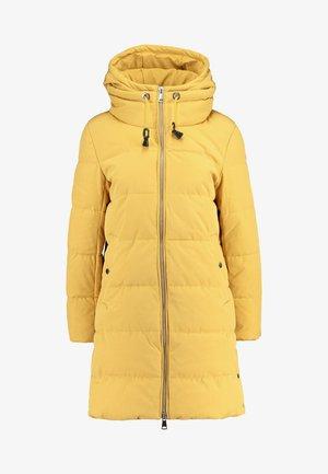 PADDED COAT - Winter coat - amber yellow