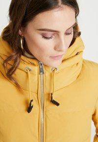 Esprit - PADDED COAT - Zimní kabát - amber yellow - 3
