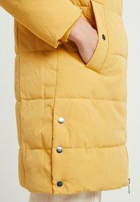 Esprit - PADDED COAT - Zimní kabát - amber yellow - 5