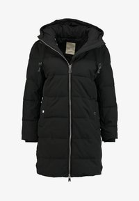 Esprit - PADDED COAT - Winter coat - black - 4