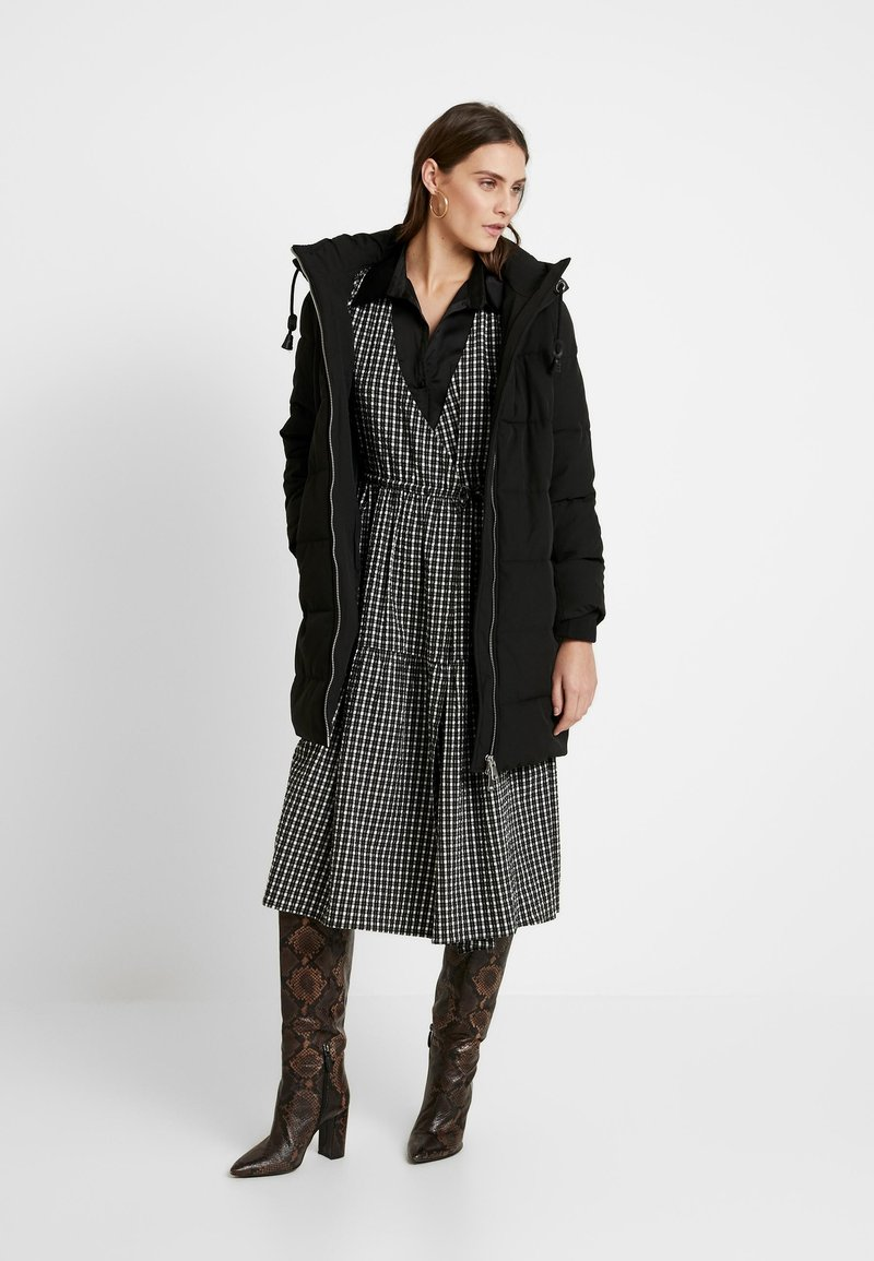 Esprit - PADDED COAT - Winter coat - black