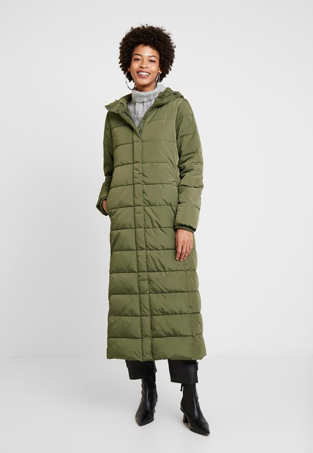Winter coat - khaki green