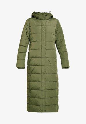 Płaszcz zimowy - khaki green