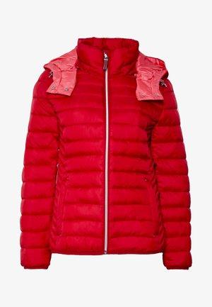 Lett jakke - dark red