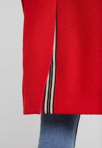 Esprit - PIQUET - Halflange jas - dark red - 5
