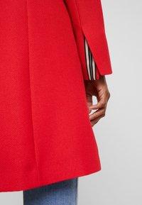 Esprit - PIQUET - Halflange jas - dark red - 6