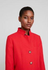 Esprit - PIQUET - Halflange jas - dark red - 3