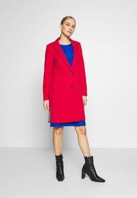 Esprit - Classic coat - dark red - 1