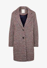 Esprit - STRUCTURE COAT - Płaszcz wełniany /Płaszcz klasyczny - dark blue - 4