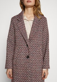 Esprit - STRUCTURE COAT - Płaszcz wełniany /Płaszcz klasyczny - dark blue - 5