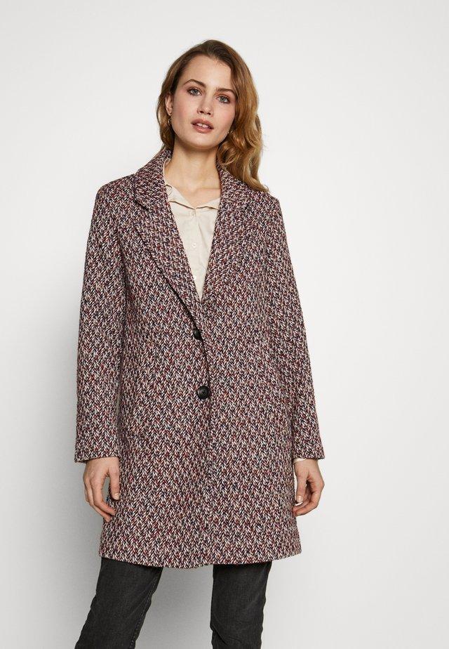 STRUCTURE COAT - Płaszcz wełniany /Płaszcz klasyczny - dark blue