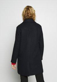 Esprit - STRUCTURE COAT - Classic coat - navy - 2