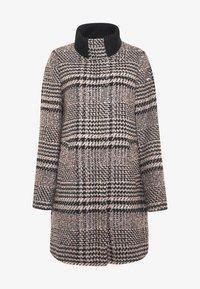 Esprit - CHECK COAT - Classic coat - black - 4