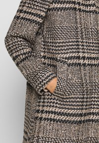 Esprit - CHECK COAT - Classic coat - black - 5