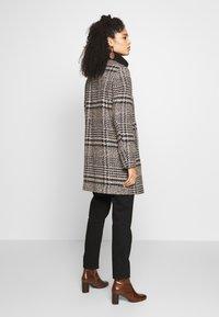Esprit - CHECK COAT - Classic coat - black - 2