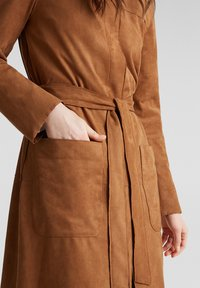 Esprit - Classic coat - toffee - 4