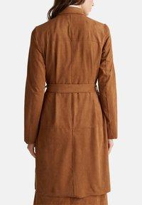 Esprit - Classic coat - toffee - 6