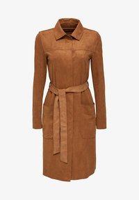 Esprit - Classic coat - toffee - 7