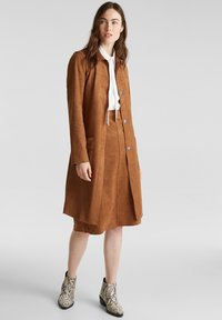 Esprit - Classic coat - toffee - 1