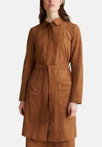 Esprit - Classic coat - toffee - 5