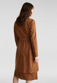 Esprit - Classic coat - toffee - 2