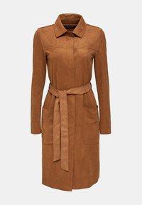 Esprit - Classic coat - toffee - 9