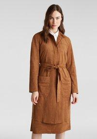 Esprit - Classic coat - toffee - 0