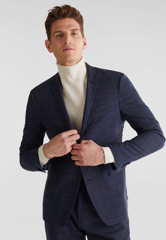 blazer - grey blue