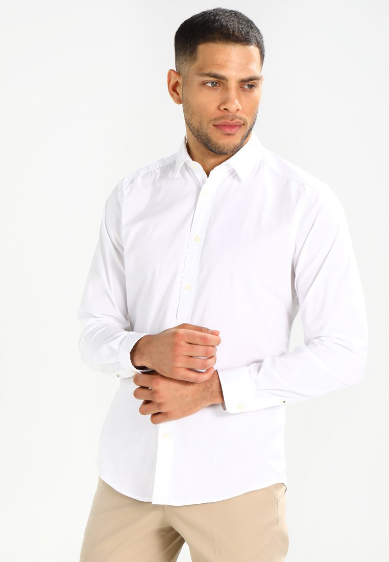 Esprit - SOLIST SLIM FIT - Koszula - white