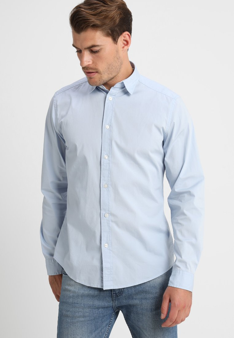 Esprit - SOLIST SLIM FIT - Shirt - light blue