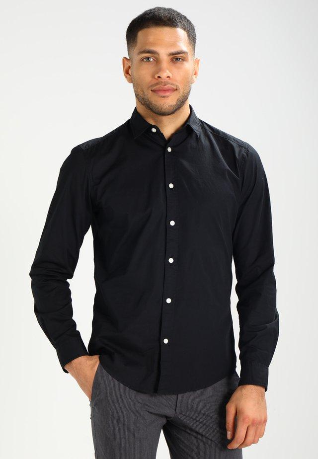 SOLIST SLIM FIT - Camicia - black