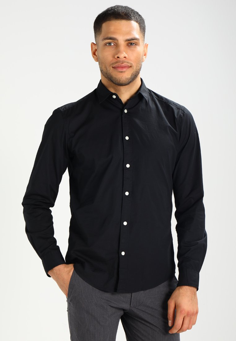 Esprit - SOLIST SLIM FIT - Skjorte - black