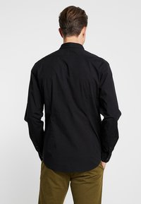 Esprit - SOLIST SLIM FIT - Overhemd - black - 2