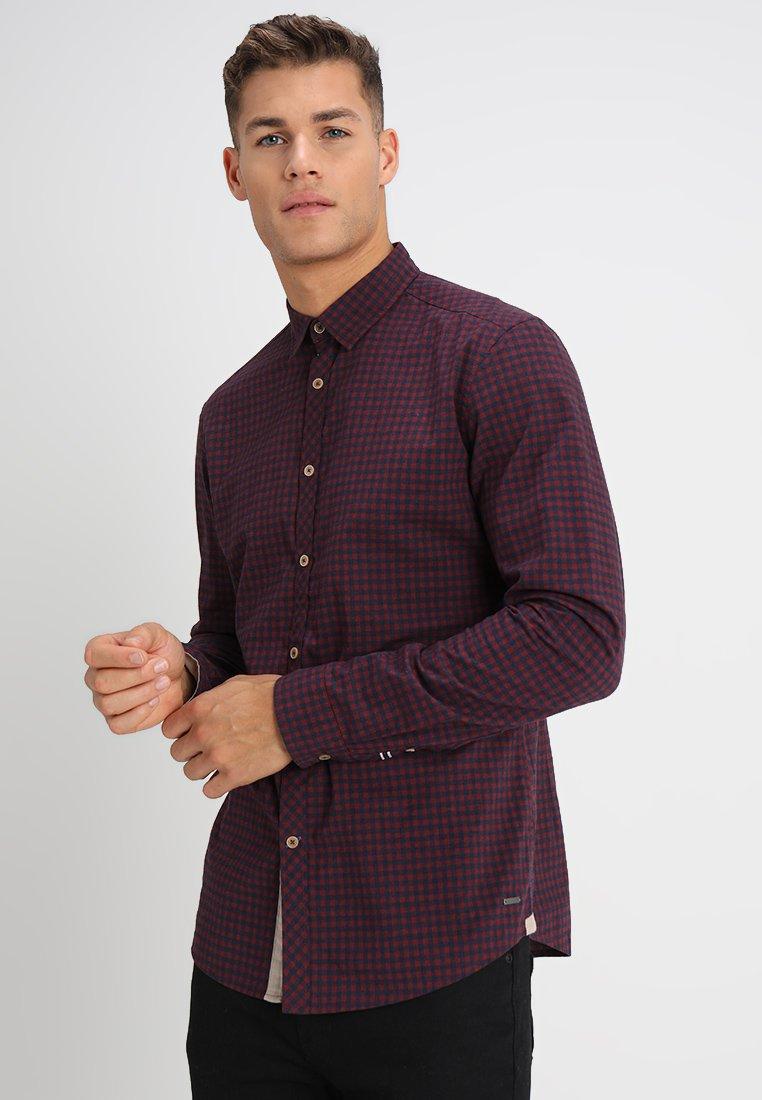 Esprit - VICHY  - Shirt - bordeaux red