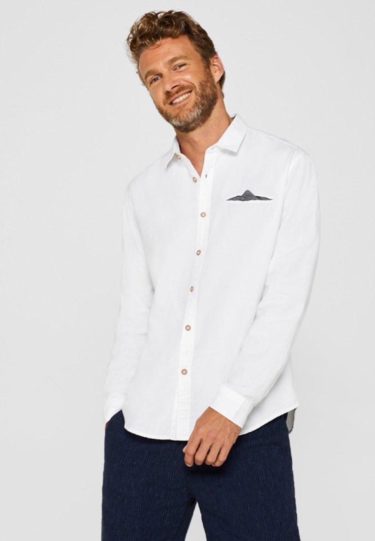 Esprit - SLIM FIT - Hemd - white