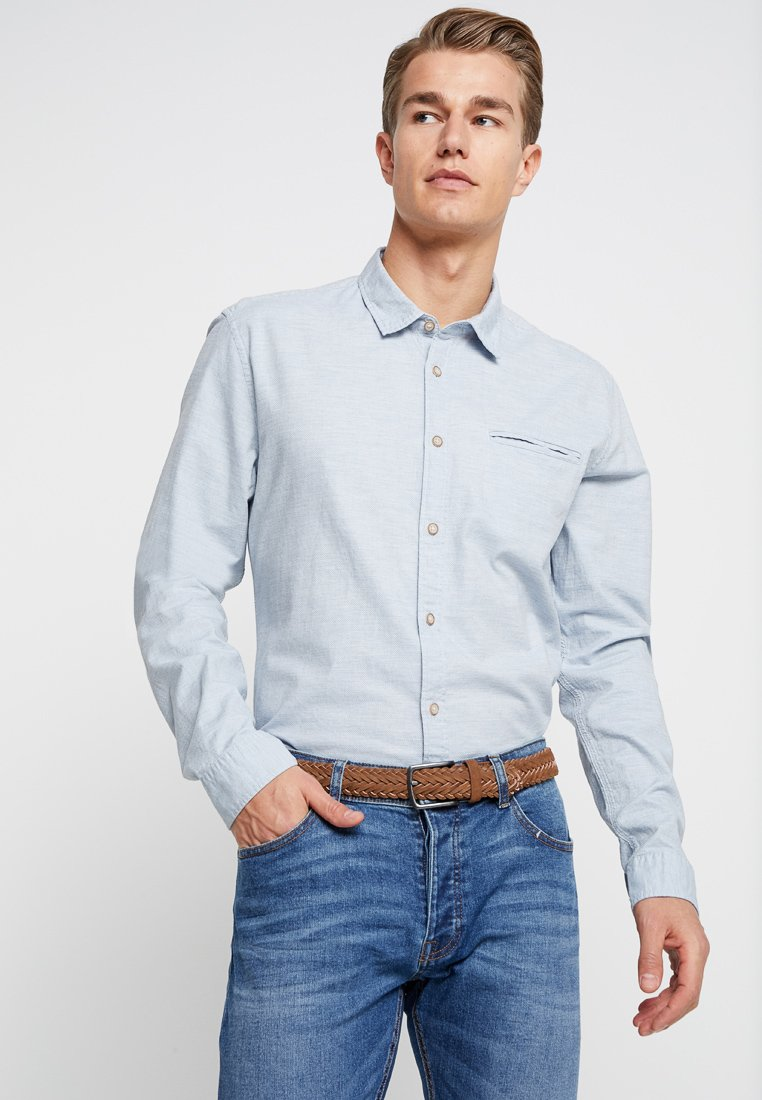 Esprit - SLIM FIT - Chemise - light blue