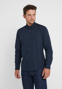Esprit - SLIM FIT - Camisa - navy - 0