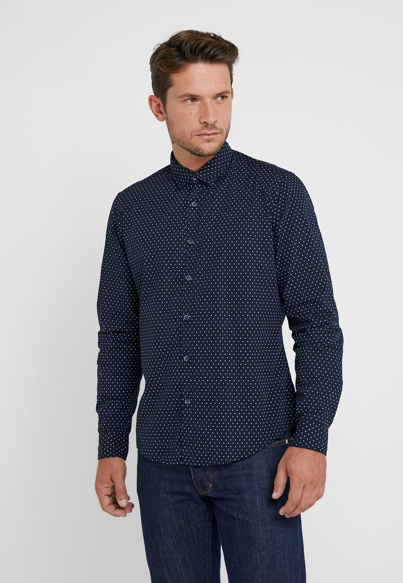 Esprit - SLIM FIT - Camisa - navy