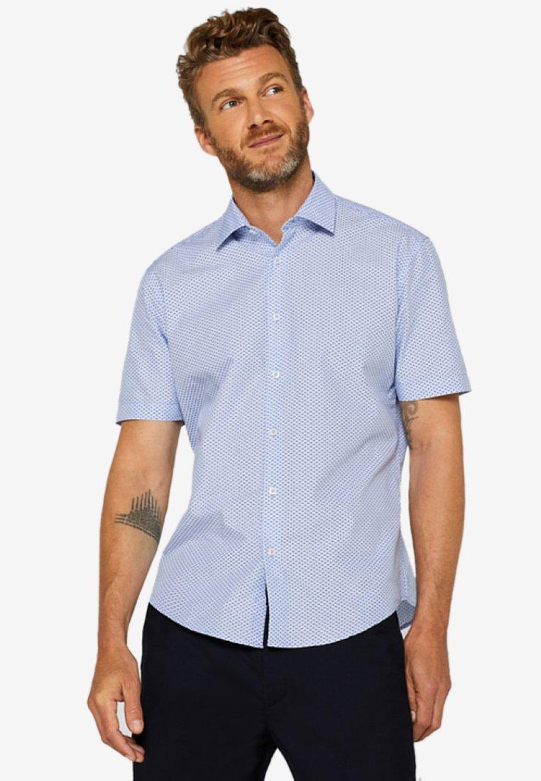 Esprit - COOLMAX - Hemd - light blue