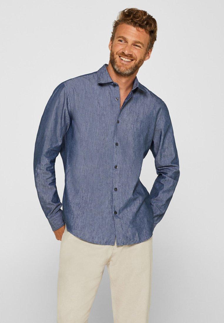 Esprit - SLIM FIT - Shirt - navy
