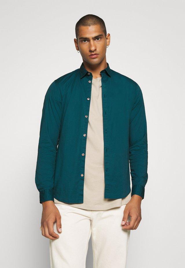 Camicia - teal green
