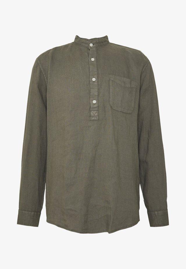 Overhemd - dark khaki